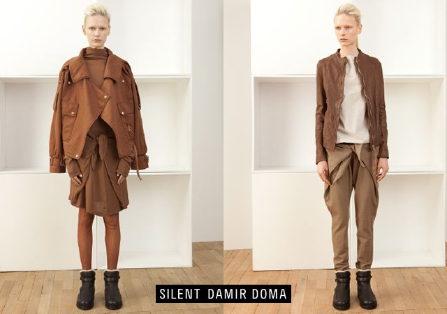 Silent Damir Doma fall/winter 2012