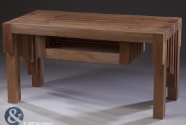 Mahogany table