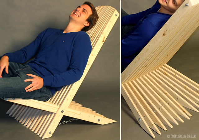 Lounge chair by Mithula Naik