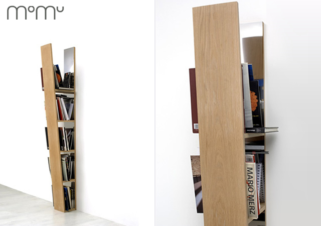V bookshelf by Momu