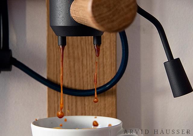 Seppl: porcelain espresso machine
