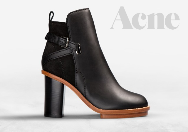 Cypress Contrast Black by Acne