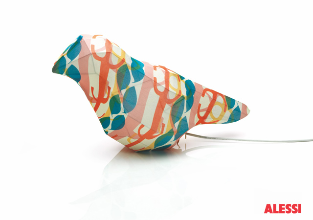 Lampada uccello by Alessi