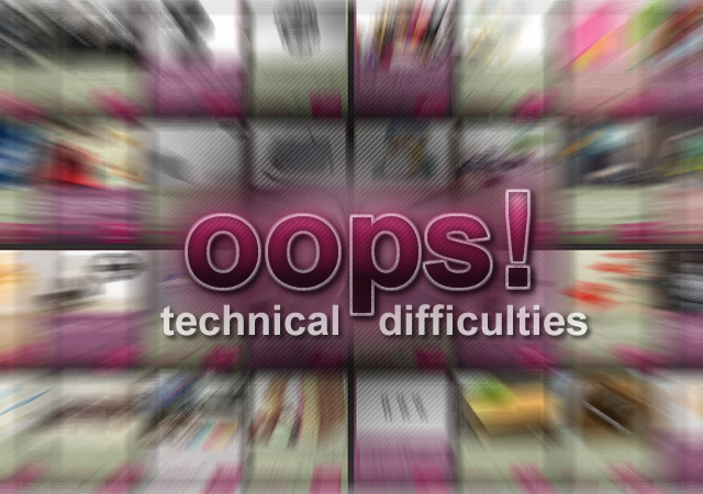 Technical difficulties