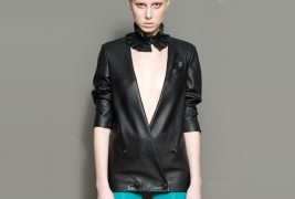 Roba leather blazer