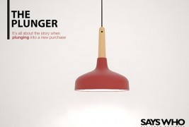 The Plunger suspension lamp - thumbnail_1