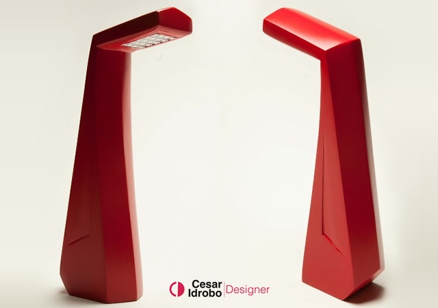 Edge body lamp | Image courtesy of Cesar Idrobo