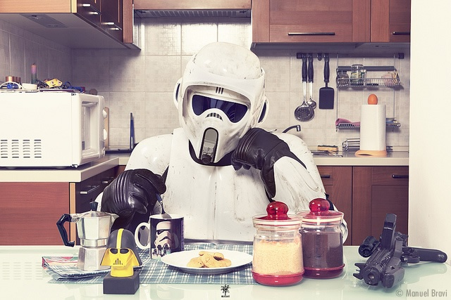 Solitudine di uno Scout Trooper | Image courtesy of Manuel Bravi