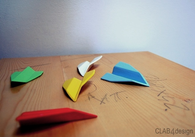 Aerodito finger plane | Image courtesy of Clab4design