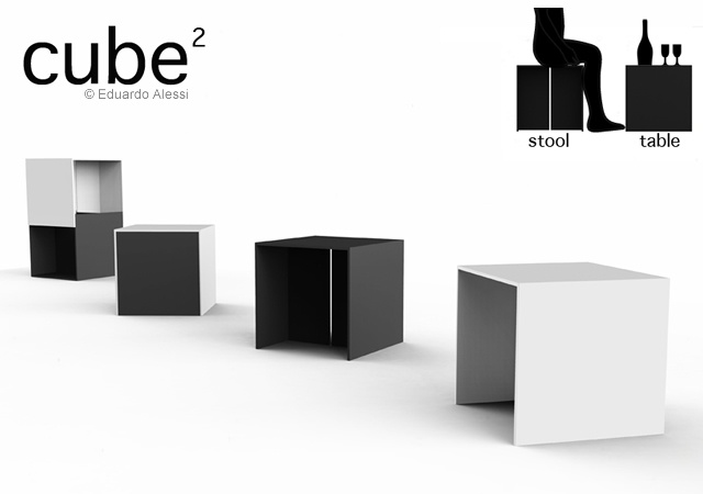 CUBE² | Image courtesy of Eduardo Alessi