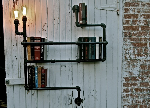 Sustainable industrial home decor en themag - Industrial home design ...