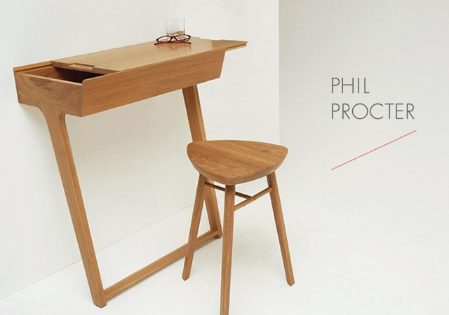 Quello Table and Stool | Image courtesy of Phil Procter