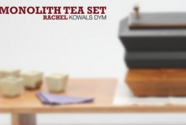 Monolith tea set