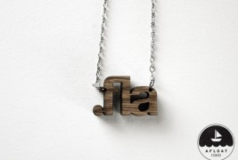 File Extension Necklaces