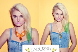 Sustainable statement jewelry by EABurns