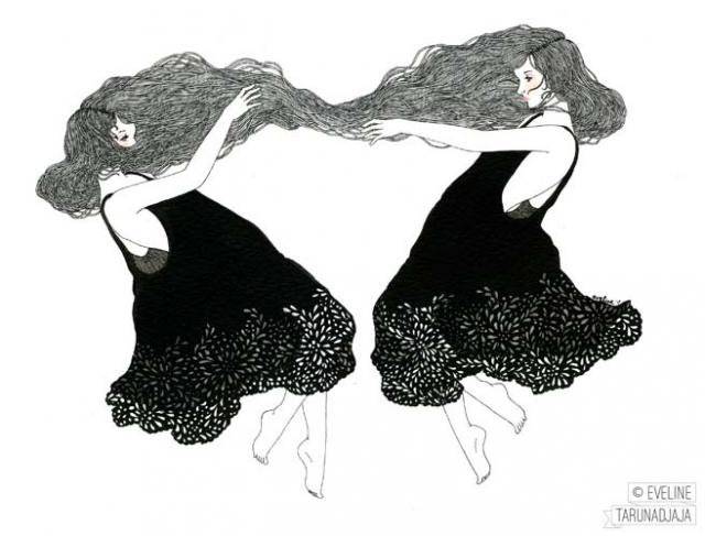 Eveline Tarunadjaja artist and illustrator | Image courtesy of Eveline Tarunadjaja