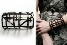 Automaton Warrior Cage Bracelet