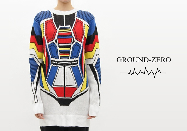 Gundam sweater | Image courtesy of Ground Zero