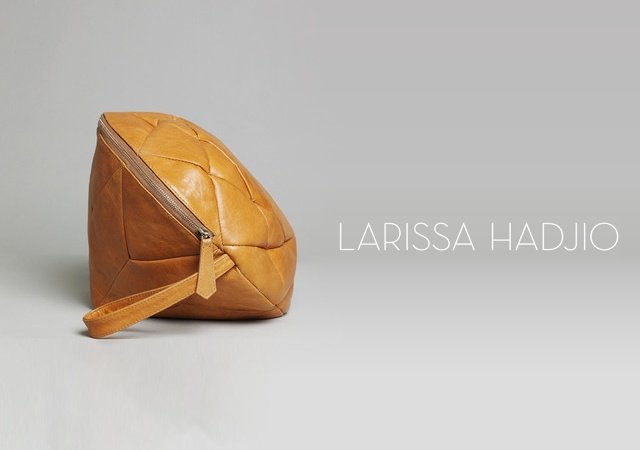 Diamond bags by Larissa Hadjio