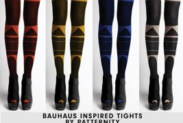 Bauhaus tights by Patternity - thumbnail_1