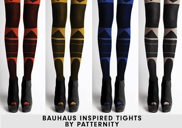 Bauhaus tights by Patternity | Image courtesy of Patternity