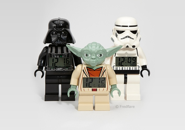 Lego Star Wars alarm clock | Image courtesy of Fredflare