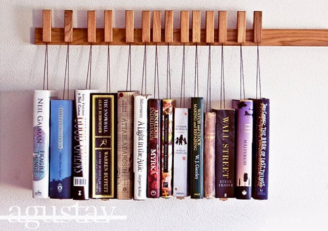 Book rack | Image courtesy of agustav