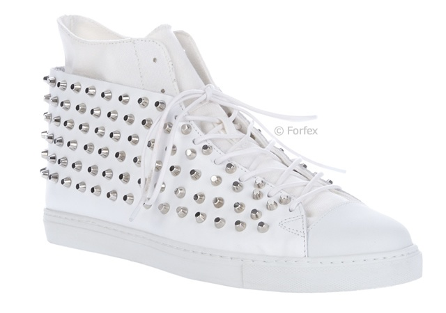 Forfex studded trainers | Image courtesy of Forfex