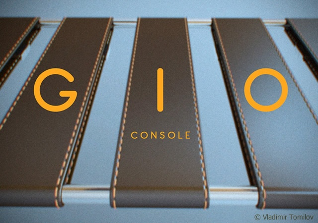 Console GIO | Image courtesy of Vladimir Tomilov