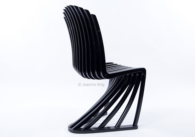 Stripe chair | Image courtesy of Joachim King