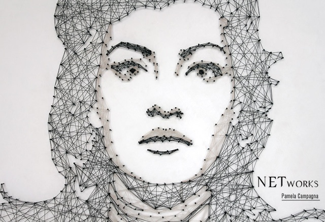 NETwork thread and nails portraits | Image courtesy of Pamela Campagna