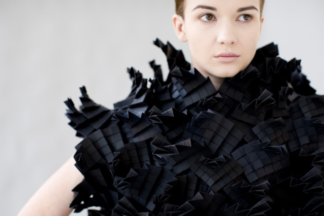 Morana Kranjec sculptural clothes | Image courtesy of Morana Kranjec