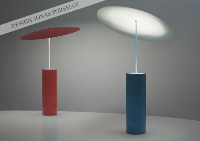 Parasol lamp | Image courtesy of Jonas Forsman