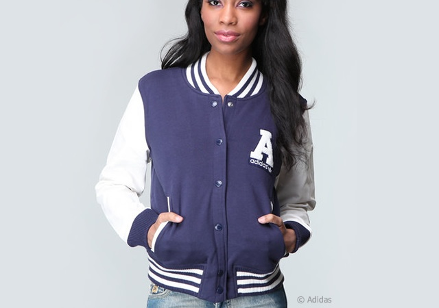 Adidas varsity jacket | Image courtesy of Adidas