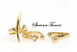 Tooth And Bone Ring Set - thumbnail_3