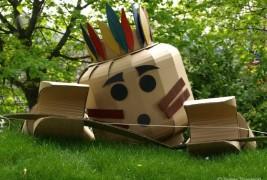 Cardboard Lego man - thumbnail_5