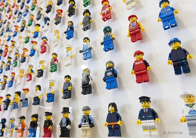 Lego art for Qubic Tax | Image courtesy of Acrylicize