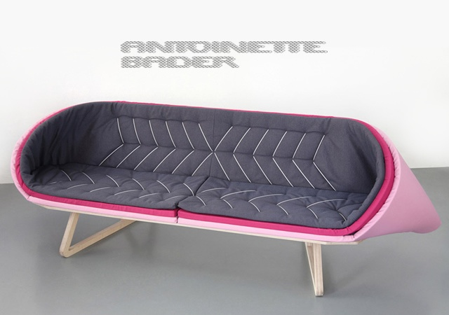 Sofa by Bader | Image courtesy of Antoinette Bader