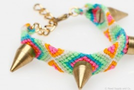 Stud friendship bracelet - thumbnail_1