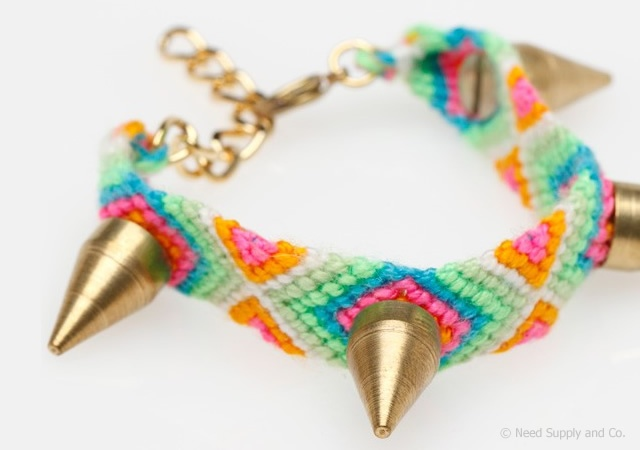 Stud friendship bracelet | Image courtesy of Need Supply and Co.