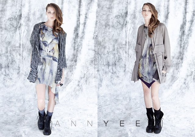 Ann Yee autunno/inverno 2012 | Image courtesy of Ann Yee