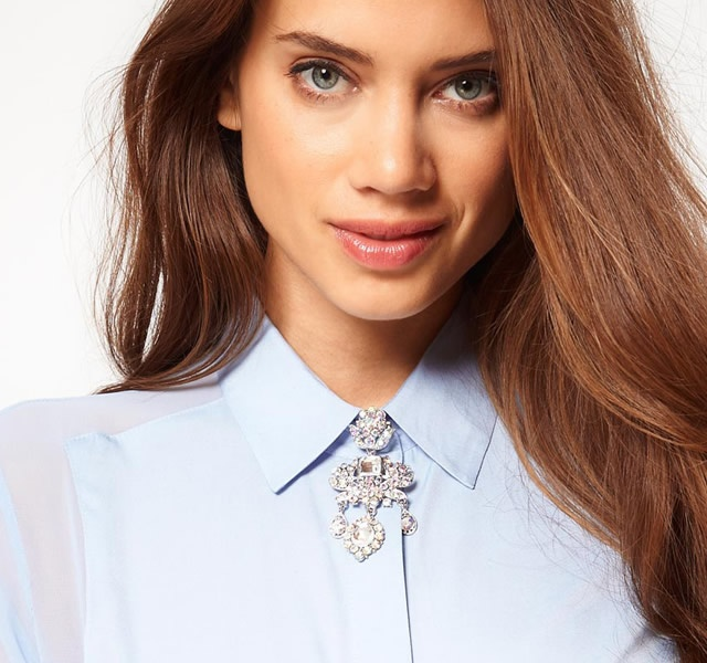 Collar brooch | Image courtesy of Asos