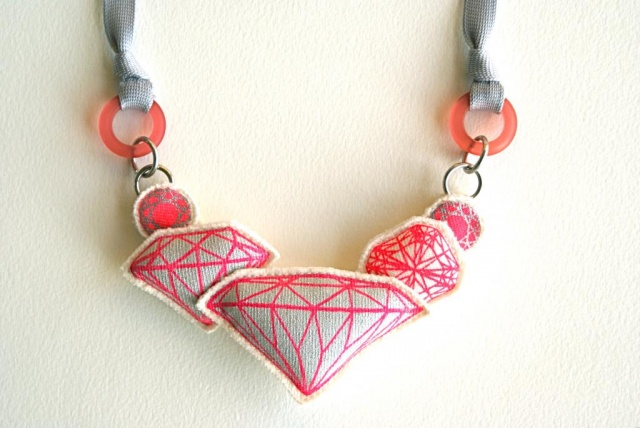 Bling necklaces by Hitokoo | Image courtesy of Hitokoo
