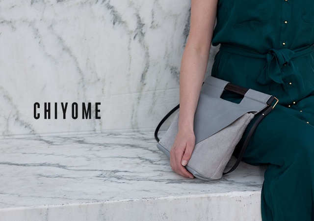 Chiyome bags collection one | Image courtesy of Chiyome