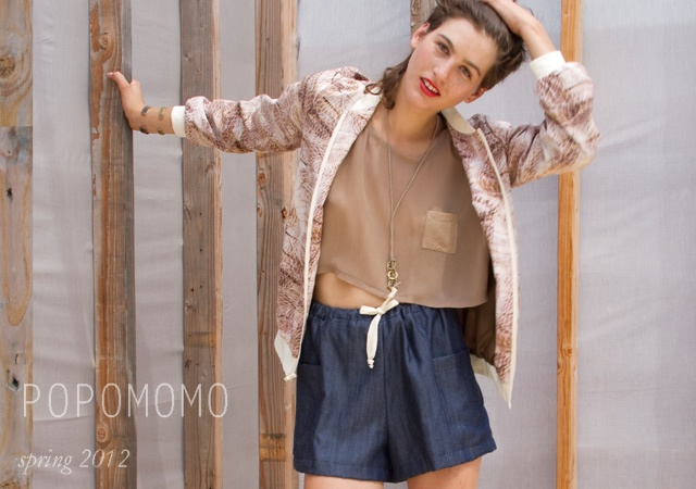 Popomomo spring/summer 2012 | Image courtesy of Popomomo