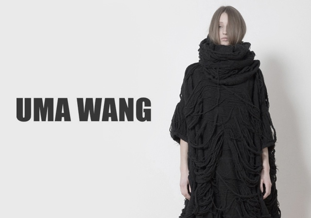Uma Wang fall/winter 2012 | Image courtesy of Uma Wang