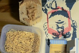 DRIVE in toothpicks - thumbnail_2