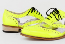 Fluo derby shoes - thumbnail_4