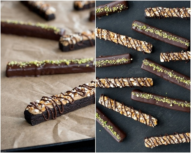 Cocoa Cookie Sticks