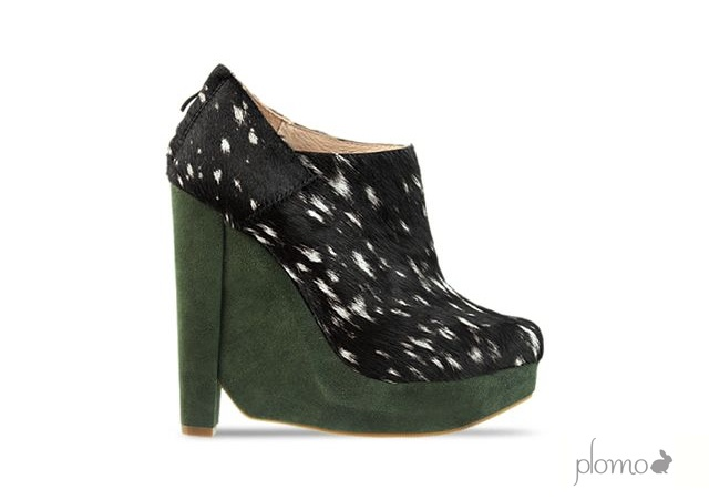 Valentina wedges by Plomo